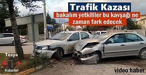 Tosyada Meydana gelen Trafik kazasında...