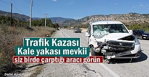 Tosya'da Trafik Kazasında 3 kişi yaralandı (VİDEO HABER )