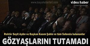 REKTÖR SEYİT AYDIN VE BAŞKAN KAZIM...