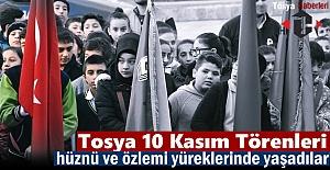 Tosya 10 Kasım Atatürk'ü Anma Töreni
