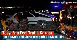 Tosya-Akçakavak Kavşağı Trafik...