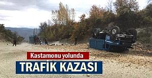 TOSYA - KASTAMONU YOLU TRAFİK KAZASI