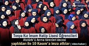 TOSYA KIZ İMAM HATİP LİSESİ ÖĞRENCİLERİ...