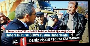 TOSYA KÖMÜR OCAĞI HABERİMİZ TRT1 VE SHOW TV ANA HABERDE