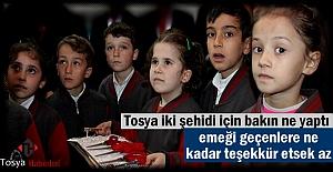 Tosya Şehidlerinin adını okul ve kütüphanede yaşatacak