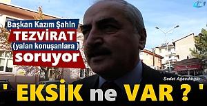 Başkan Kazım Şahin Tosya hakkında#039;#039;...