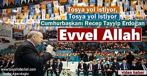Tosya Heyeti Cumhurbaşkanı Recep...