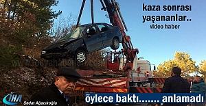 Tosya-İskilip yolu Trafik Kazası sonrası yaşananlar