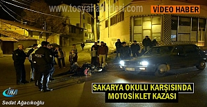 Tosyada Motosiklet Kazasında 2...