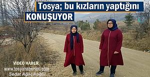 Tosya bu iki İmam Hatipli kız öğrencilerin...