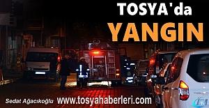 Tosya#039;da Yangın.. İtfaiye Olay...