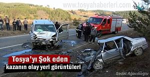 Tosya-Kastamonu yolu Trafik Kazası...