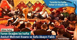 Tosya Yarenlerinde bu hafta Ocağı Avukat Mehmet Hızarcı ve Sefa Abayın Yaktı