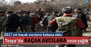 Tosya'da 2017 yılında 23 Kaçak Avcıya Ceza Yağdı