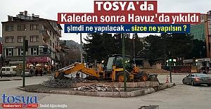 TOSYA CUMHURİYET MEYDANINDA KÖKLÜ...