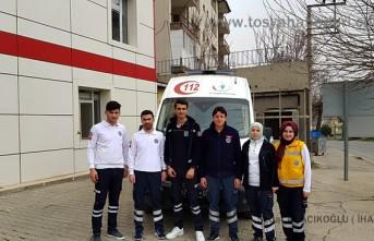 Basın mensupları Tosya Acil Tıp Teknisyenleri ve Teknikerleri ziyaret etti