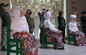 Kız Meslek Lisesi Anaokulu öğrencilerinden 18 Mart Çanakkale Şehitleri