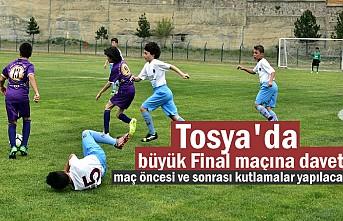 Tosya U-11 Pirinç Kupası Final Maçına Davet