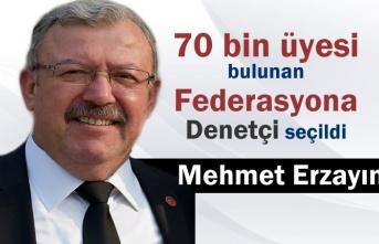 Türkiye Terziler Konfedarasyonu Denetçiliğine Mehmet Erzayın Seçildi