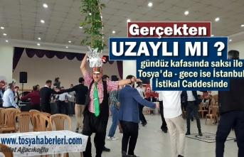 Tosya'da Uzaylı Mustafa İstanbul İstiklal Caddesinde
