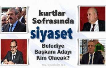 Tosya'da Kurtlar Sofrasında Belediye Başkan Aday Adayları