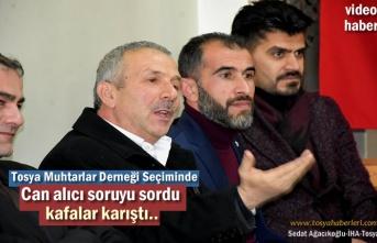 Tosya Muhtarlar Derneği Başkanlığına Ali Osman Genç seçildi