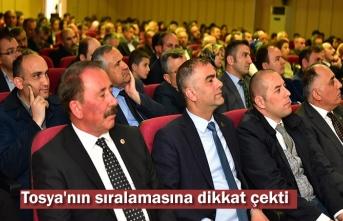 55. Kütüphaneler Haftası Tosya'da düzenlenen programla kutlandı.