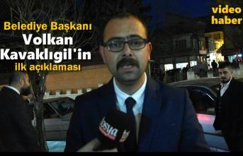 Belediye Başkanı Volkan Kavaklıgil İlk açıkalmasını tosyahaberleri sitemize yaptı