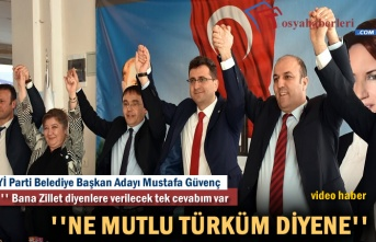 İYİ Parti Tosya Seçim Bürosu Açılışı
