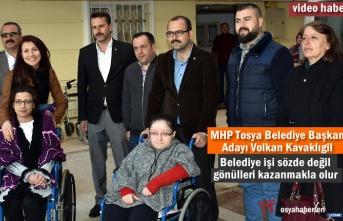 MHP Tosya Belediye Başkanı Adayı Volkan Kavaklıgil'den Anlamlı Ziyaret