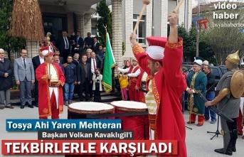 Tosya Ahi ve Yaren Derneği ile Mehteran Başkan Volkan Kavaklıgil Ziyareti