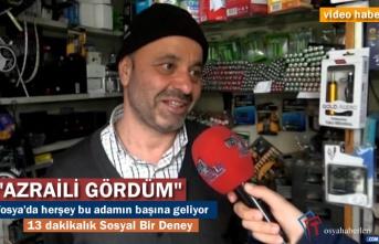 Tosya'da Vatandaşa Sorduk ''Azraili Karşında Görsen Ne Yaparsın''