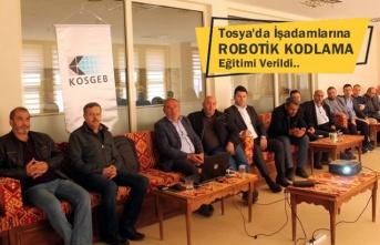 Tosya Ticaret Odası Robotik Kodlama Eğitimi Verdi
