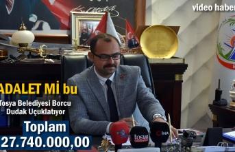 Tosya Belediyesinin Borcu Dudak Uçuklatıyor