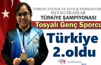 Tosyalı Sporcu Havalı SilahlarTürkiye Şampinasında Büyük Başarı