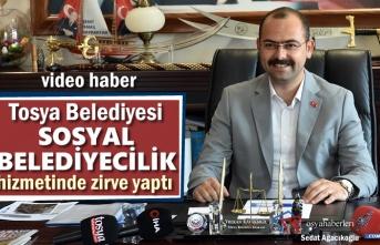 Tosya Belediyesi ilk Dört Ayda Sosyal Belediyecilik Hizmetinde Zirve Yaptı