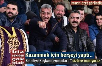 Tosyaspor-Kastamonu Yolspor maçının sonunu getiremedi