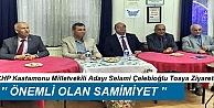CHP MİLLETVEKİLİ ADAYLARI, TOSYA#039;YI ZİYARET ETTİ