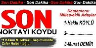 İşte AK Parti#039;nin Kastamonu  aday listesi