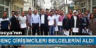 KOSGEB TOSYADA GENÇ GİRİŞİMCİLERE BELGE VERDİ
