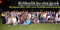 Tosya Anadolu Öğretmen Lisesi Mezunları İftarda Buluştu