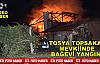 Tosya Bağ Evinde Çıkan Yangın Korkuttu