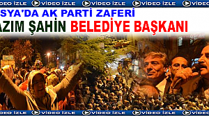 Tosya Belediye Başkanı Kazım Şahin