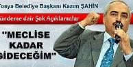 """Tosya Belediye Başkanı Şahin: Mevzuatlar göç ettirmeye zorluyor"""""""