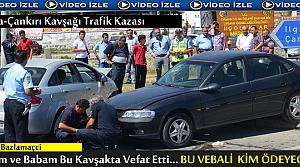 TOSYA-ÇANKIRI KAVŞAĞINDA TRAFİK KAZASI