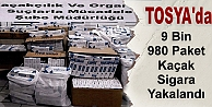 TOSYA#039;DA 9.980 PAKET KAÇAK SİGARA YAKALANDI