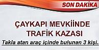 TOSYA#039;DA BAYRAM DÖNÜŞÜ FACİADAN DÖNÜLDÜ