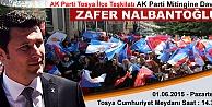 TOSYA#039;DA SEÇİM MİTİNGLERİ PAZARTESİ GÜNÜ BAŞLIYOR