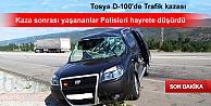 TOSYA'DA TRAFİK KAZASI SONRASI POLİSE ÖYLE BİR ŞEY DEDİKİ
