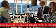 TOSYA KAYMAKAMI ŞEHİT YAKINLARI VE GAZİLERLE İFTARDA BİR ARAYA GELDİ